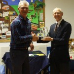 Presentation of  Trophy to Peter Trickett
