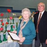 Tulip judges Valerie Eyre Keith Eyre
