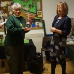 Presentation to Sue Vinden